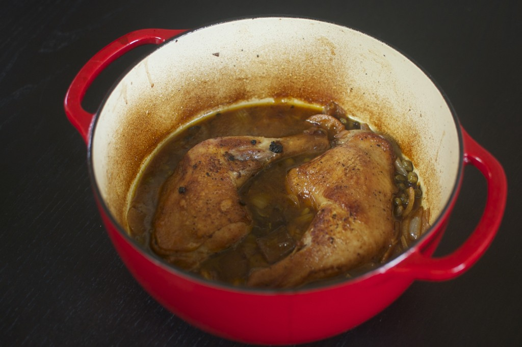 Braised Barley Wine Chicken