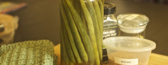 Quick Pickled Green Beans