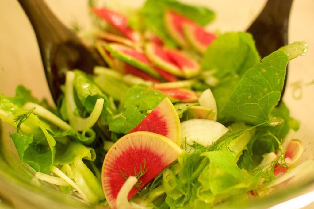 Nosherium Radish Salad