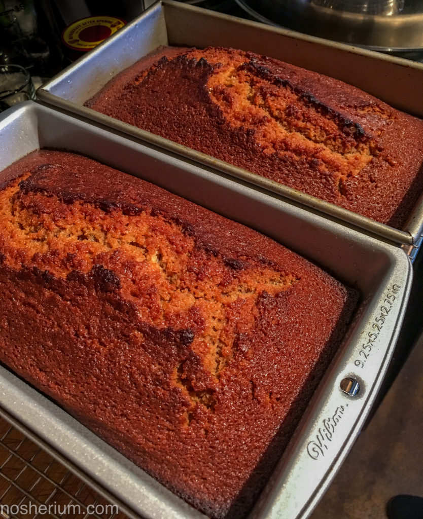 Nosherium Chai-Spice Honey Cake Loaves