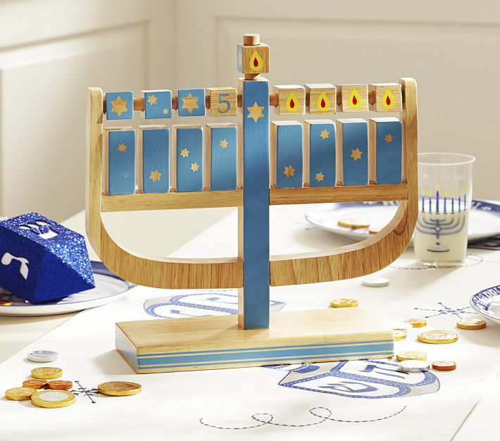 Nosherium Pottery Barn Kids Hanukkah 2018 Play Menorah