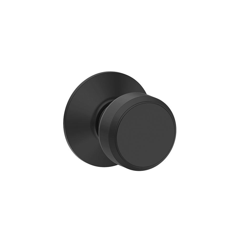 Schlage Bowery Privacy Lock Knob, Matte Black