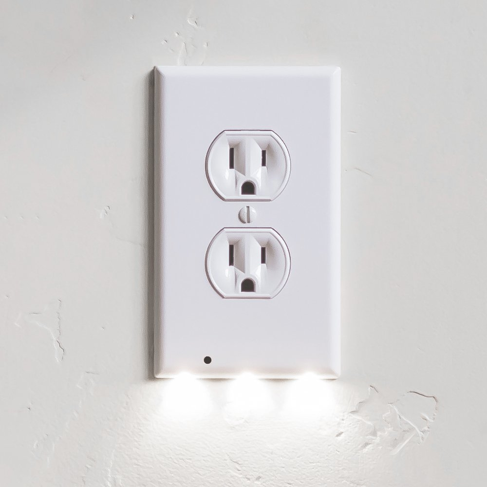 SnapPower LED Outlet Cover