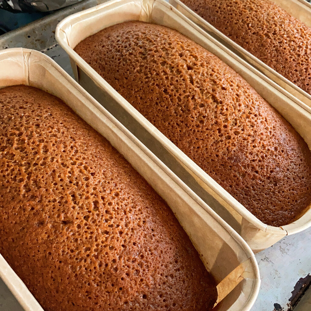 Nosherium 2020 Chai Spiced Honey Cake Update